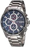 Quantum ADG725.350 Reloj para Hombre, color Plata, Estándar
