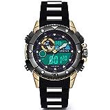 Reloj Deportivo Digital Reloj Militar para Hombre Relojes Deportivos para Hombre, Relojes Hombre Resistente al Agua Digital Militares Relojes Calendario Reloj Relojes de Pulsera Cronografo de Pulse
