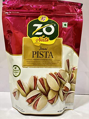 Zo Nuts Irani Roasted Pistachios 250gm (250)