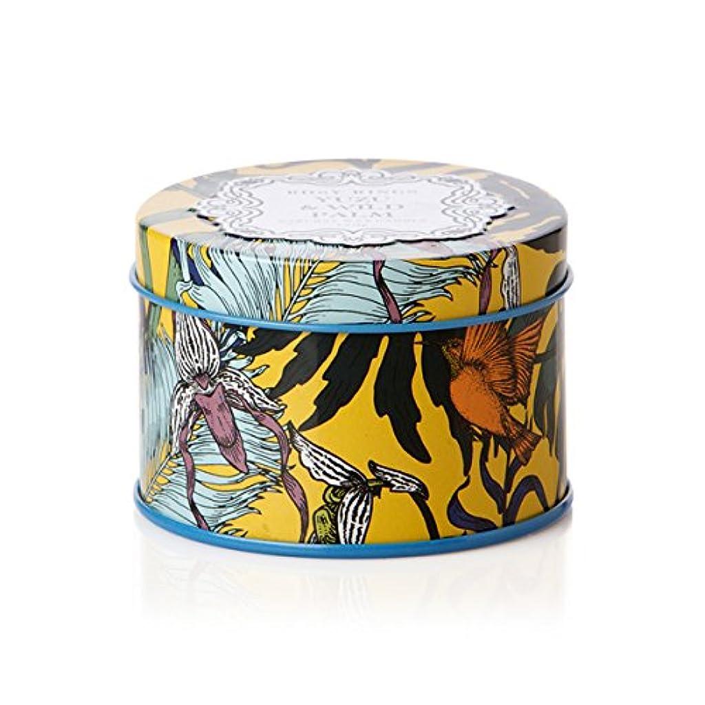 バスト含める良性ロージーリングス プティティンキャンドル ユズ&ワイルドパーム ROSY RINGS Petite Tin Yuzu & Wild Palm