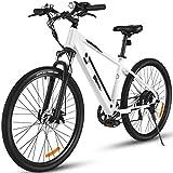 27.5'' Electric Mountain Bike for Adults, Speedrid Electric Bikes with 36V/10.4Ah Li-ION Battery, 20MPH 40 Mileage Commuter e-Bike City Bike for Woman/Man/Teens/Adults