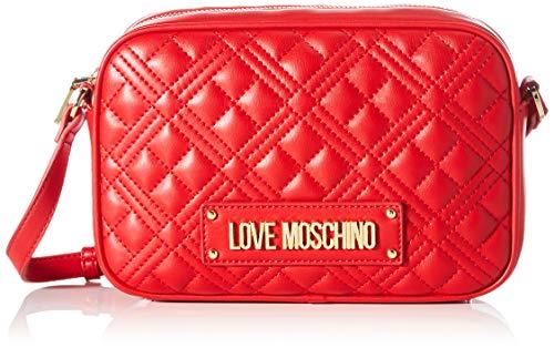 Love Moschino Precolección SS51 Bolso de hombro PU para mujer, New Shiny...