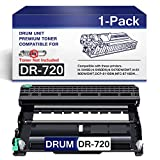 1 Pack DR720 DR-720 Drum Unit ReplacementforBrother DR-720 DCP-8110DN 8150DN;MFC-8710DW 8810DW 8910DW Printer Drum (Toner not Included).