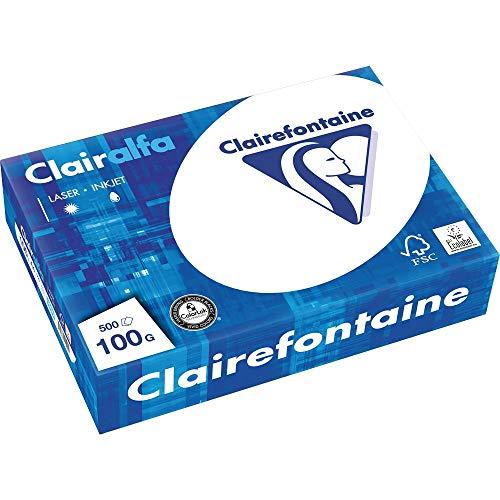 Clairefontaine Kopierpapier Clairalfa/1950C DIN A4 weiß 100 g/qm Inh.500