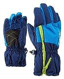 Ziener Unisex– Babys Ludo Ski-Handschuhe/Wintersport, Estate Blue, 104