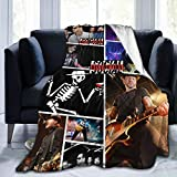 MinnieGCraig Social Distortion Flannel Blanket is Soft, Suitable for Sofa Bed
