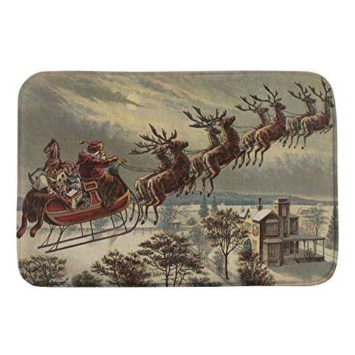 Vœux de Noël rouge arrière spécial 2 pour £ 11 Handmade Noël Housse de coussin..