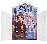 Disney Frozen Calendario Avvento 2021, Calendario dell'avvento con Gioielli Bambina, Idee Regalo di Natale con Collana e Bracciale Ragazza, Advent Calendar