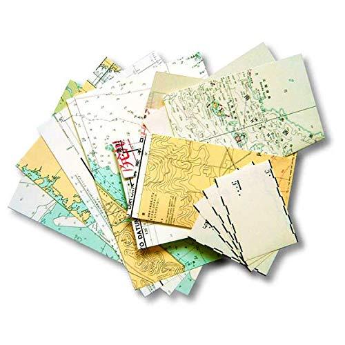 廃版海図 レターセット A5サイズ