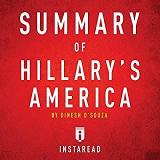 Summary of Hillary's America by Dinesh D'Souza audiobook cover art
