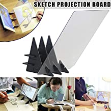 Optical Image Drawing Board Sketch Reflection Dimming Bracket Painting Mirror Plate AEVEN✿ New Painting Copying Drawing Board Easy to Paint Sketch Assistant Drawing Aid for Kids Beginners