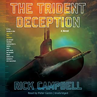 The Trident Deception audiobook cover art