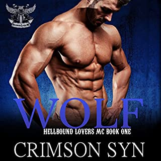Wolf      Hellbound Lovers MC Series, Book 1              By:                                                                                                                                 Crimson Syn                               Narrated by:                                                                                                                                 Rodney Falcon                      Length: 2 hrs and 19 mins     8 ratings     Overall 4.5