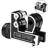 Toolwiz Tagliatubi Tubo Tagliatubi Telescopico Mini in Acciaio Regolabile Diametro 3-28 mm per Tagliare Rame, Acciaio Inossidabile, Lega di Alluminio