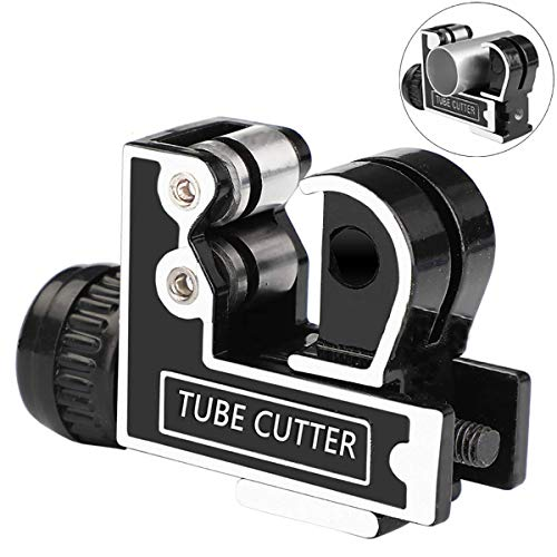 Steel Tube Cutter Tool, Cutting (3-28mm) 1/8 inch to 1-1/8 inch Copper and Aluminum Tube Pipe
