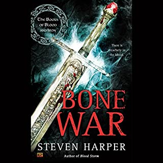 Bone War     The Books of Blood and Iron, Book 3              By:                                                                                                                                 Steven Harper                               Narrated by:                                                                                                                                 P. J. Ochlan                      Length: 14 hrs and 44 mins     28 ratings     Overall 4.4