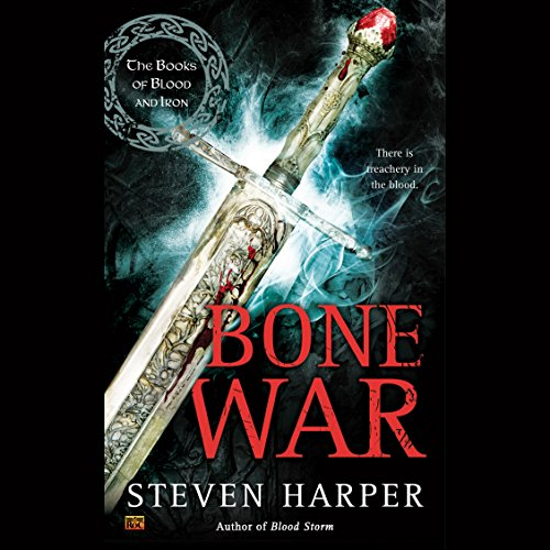 Bone War audiobook cover art