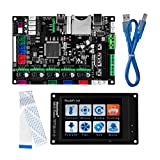 3D Printer Parts MKS Robin 2 V1.0 Integrated Circuit mainboard Controller Motherboard with Robin TFT35 Display closed source software with FFC Line & USB Cable