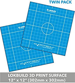 clean removal of quick sticky back sheet LokBuild 3D Print Build Surface