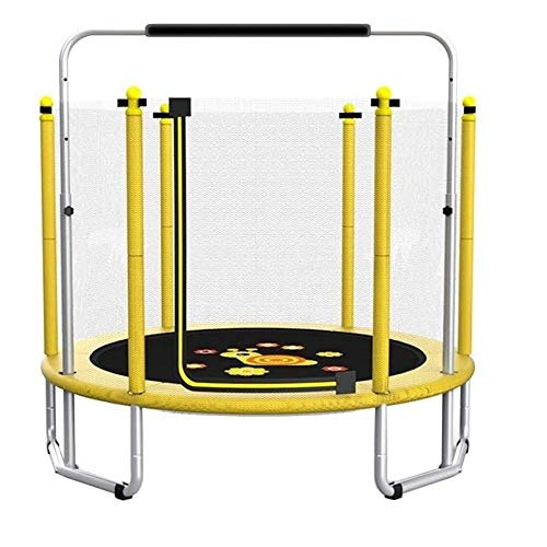 LMDH Beschermende Net Child Trampoline, Fitness Weight Loss Bouncing Bed, Tuin Indoor Trampoline Bearing 250 Kg