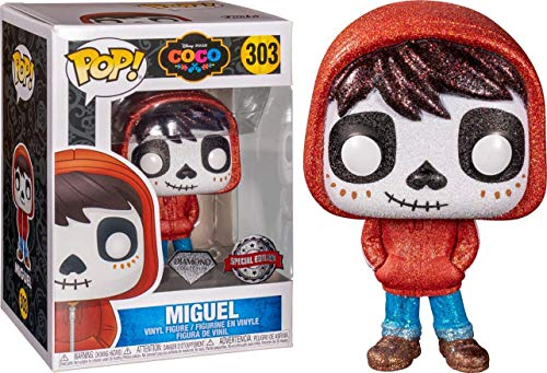 Funko Pop! 303 Disney Pixar Coco Miguel Hot Topic Exclusive Diamond Collection