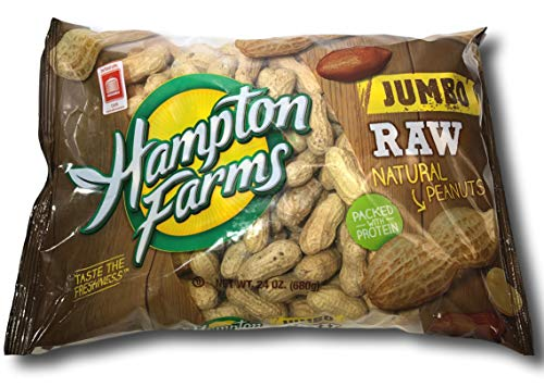 JUMBO RAW IN-SHELL PEANUTS (24 OZ.) (Jumbo) GREAT FOR BOILING