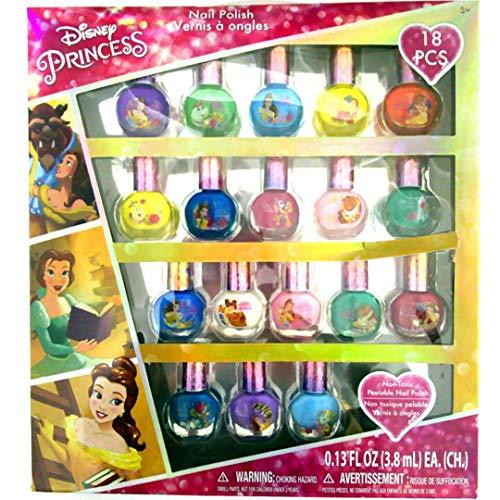 TownleyGirl Set De Lujo De Regalo Super Brillante Peel-Off Esmalte De Uñas Para Niñas, 18 Colores