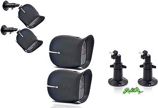 Accessories Kit for Arlo Pro and Pro2 Camera w/ (2pcs) Arlo Pro & Pro2 Skins and (2pcs) 10cm Arlo Camera Mount Black Arlo ...