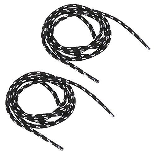 TOOGOO(R) alpiniste lacets 1 Paire Lacets Ronds pour Bottes de Randonnee Baskets de Sport