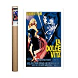 Eurographics La Dolce Vita Poster, Papier, 31.5 x 23.5 inch