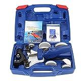 4YANG Set piegatubi Kit di utensili per la piegatura manuale del tubo Curvatubi per tubi in rame con carry box multi formato