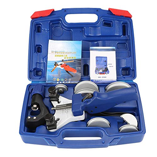 4YANG Conjunto de doblador de tubos Kit manual de herramientas para doblar tubos Dobladora de tubos de cobre con caja de transporte Multi Size