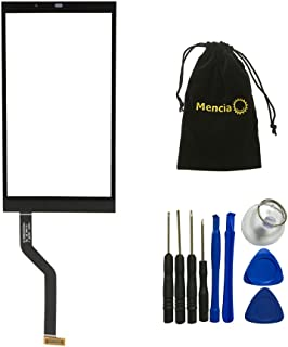 Mencia Replacement Touch Screen with Tools for HTC Desire 626 (Black)