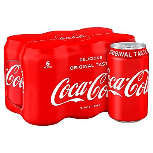Coca-Cola Originele Smaakblikjes, 6 x 330ml