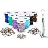 Lanyard Kit, Plastic String for Bracelets,...
