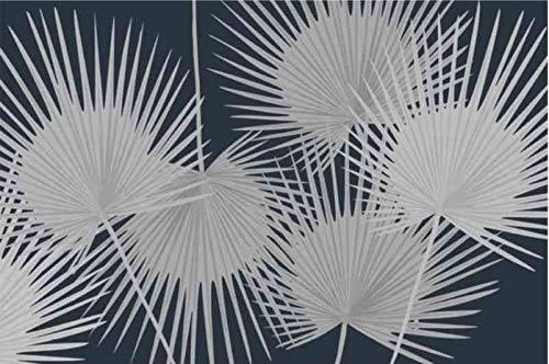 Coryl Palmes Teppich, Nacht, 75 x 50 cm