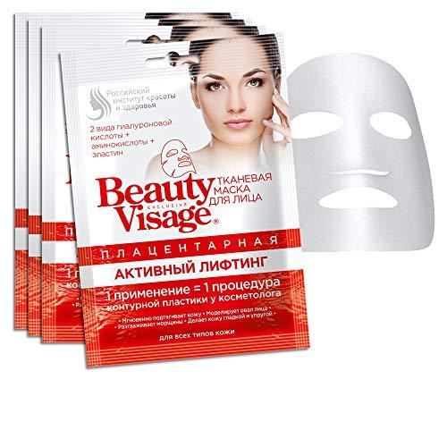 3 Stück. Plazenta Masken Tuchmasken Gesichtsmaske Premium Placenta Anti-Aging Feuchtigkeitspflege Regeneration