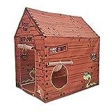 VENTDOUCE Kinderzelt Spielhaus große Polizei Spielhaus Zelte Faltbares Pop Up Spielzelt Ungiftig...