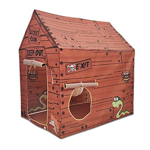Tienda de campaña para niños, castillo, juguete, casa de juegos, casa de juegos para interiores y exteriores, portátil, Pop Up Tipi para niños y niñas