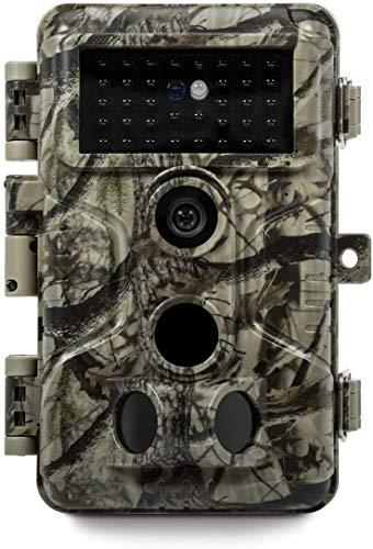 Meidase P20 Trail Camera 18MP 1080P (2020), H.264 HD MP4 Video, 82ft No Glow Night Vision, Fast 0.1s Trigger Time, 82ft Motion Activated for Wildlife Game Trail, Outdoor Deer Hunting