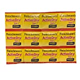 Fleischmanns Active Dry Yeast Original Packets | Pack of 12 Individually Sealed Packets