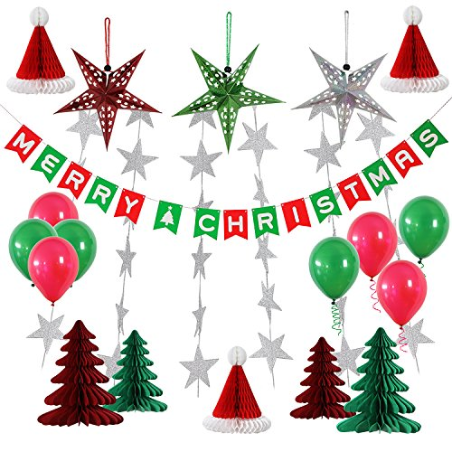 indoor christmas banner decor