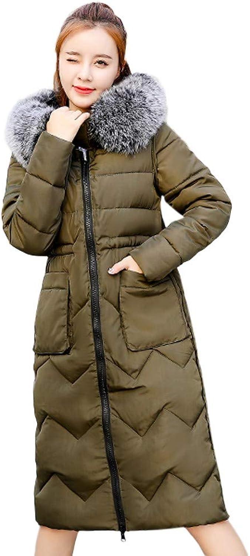 BETTERUU Women Winter Coat Down Jacket Ladies Hooded Jackets Long Puffer Parka