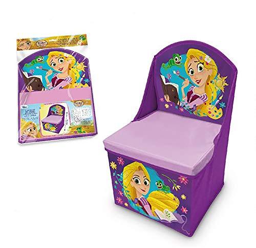 Disney Tangled Lr3061 enfants Chaise de rangement pliable 48 x 28 x 28 cm