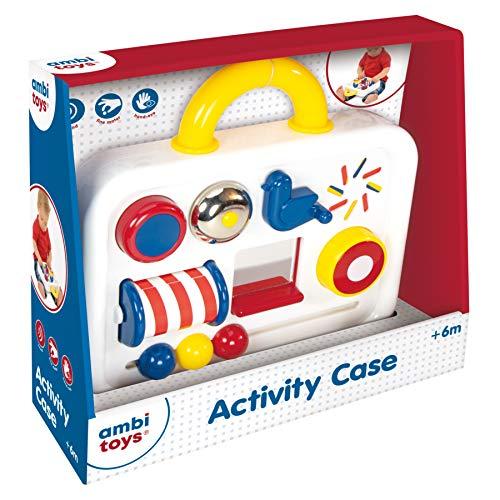 Ambitoys, Activity Case, Centro de actividades para explorar para bebés a partir de 6 meses