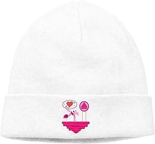 2fe36a93a6f Cartoon Flamingo Unisex Winter Knitting Wool Warm Hat Daily Slouchy Hats  Beanie Skull Cap