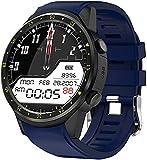 PKLG Reloj inteligente para hombre, con detección de frecuencia...