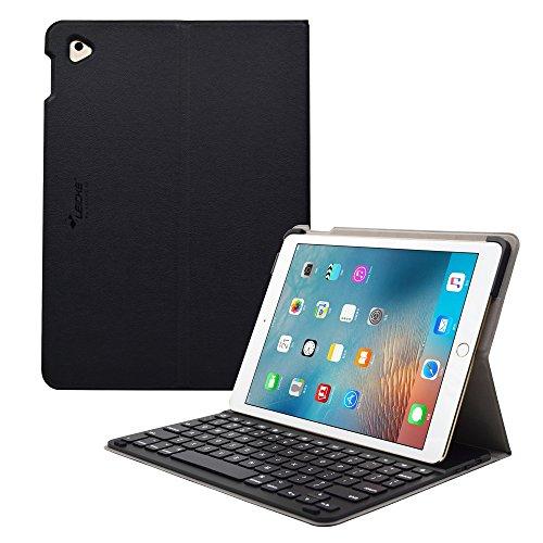 Sharon iPad Pro 9.7 hoes, case met toetsenbord | beschermhoes tas | cover met keyboard Bluetooth | Accessoires voor iPad Pro Case, Smartcover bescherming | iPad Pro toetsenbord, toetsenbord QWERTY- lay-out