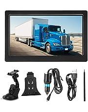 VIFER Navegador GPS 7 Pulgadas Camión Coche Navegador GPS 8GB ROM Dispositivo de navegación Bluetooth Mapa Gratuito 30 Idiomas