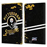 Head Case Designs Licenciado Oficialmente NFL Casco Distressed Look 100th Pittsburgh Steelers Logo A...